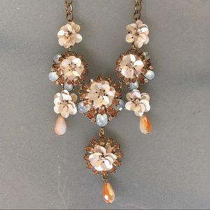 Floral statement necklace Nordstrom